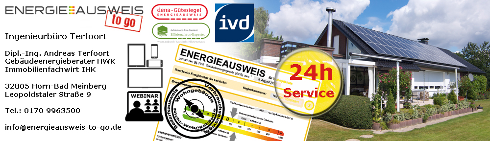 Energieausweise online
